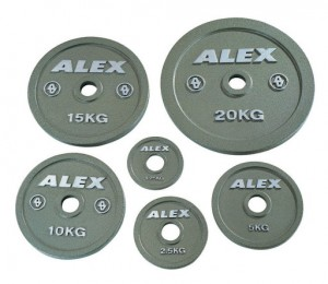 WEIGHT PLATES 2.5KG TO 20 KG SETS IRON CAST