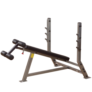 BODYSOLID - DELUXE 2X3 DECLINE OLYMPIC BENCH