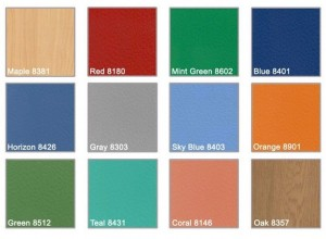 Safetred Heterogeneous Vinyl Sports Flooring