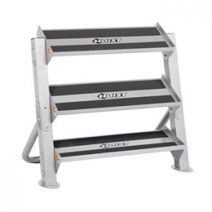 "HOIST-HF-4461-36-PL 36"""" HORIZONTAL DUMBBELL RACK 2TIER"