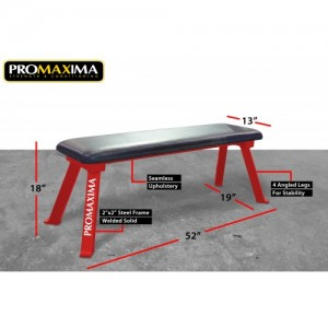 PROMAXIMMA-PL-96 FLAT CROSS TRAINING BENCH  PL-96