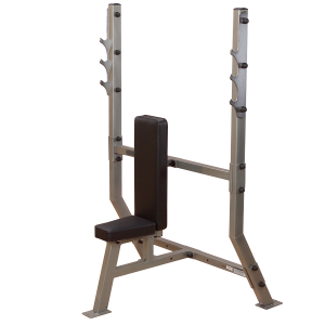 BODYSOLID - DELUXE 2X3 SHOULDER PRESS OLYMPIC BENCH