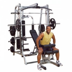 BODYSOLID GS348QP4 7 series package included GS348Q + GLA348 + GFID-71