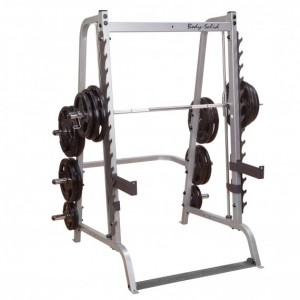 BODYSOLID GS348Q 7SERIES SMITH INCLUDES GUNRACK, SAFE