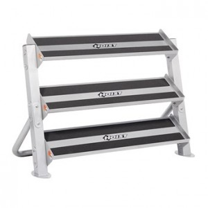 "HOIST-HF-4461-48 / 48"" HORIZONTAL DUMBBELL RACK"