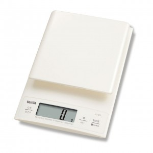 TANITA - DIGITAL KITCHEN SCALE WHITE